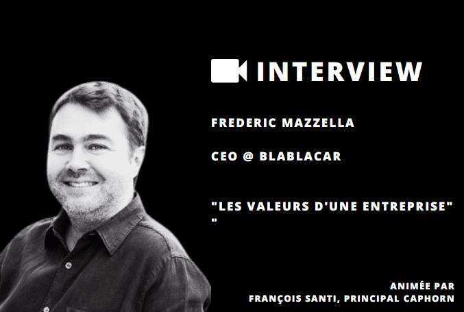 Frédéric Mazzella & François Santi sur l'importance des valeurs d'une entreprise